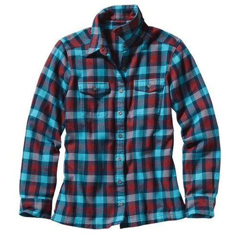 Women's Long-Sleeved Flannel Shirt