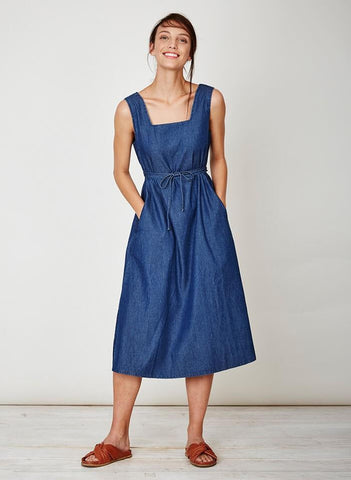 Iris Tencel Denim Midi Dress