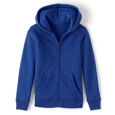 Girls' Zip Front Sweatshirt