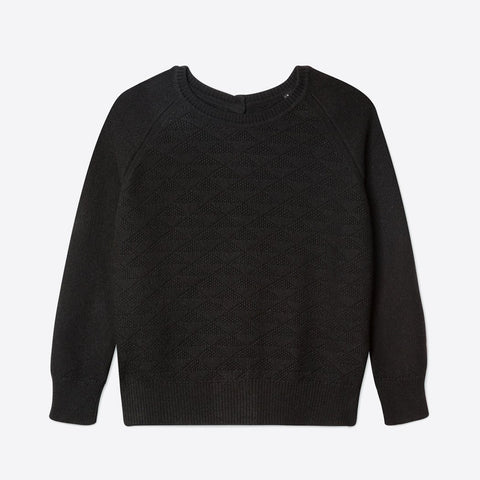 100% Recycled Cashmere Jumpigan, Black -  - BuyMeOnce UK