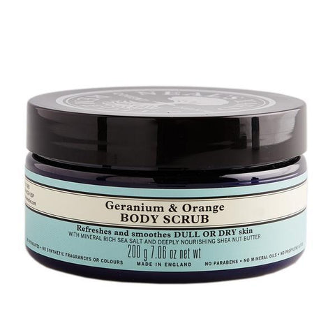 Geranium and Orange Body Scrub