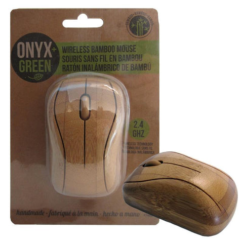 Wireless Bamboo Mouse