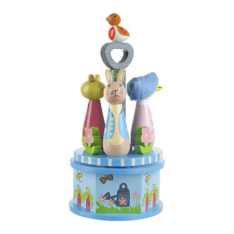 Peter Rabbit Carousel Music Box
