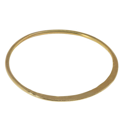 Sophie Bangle in Brass