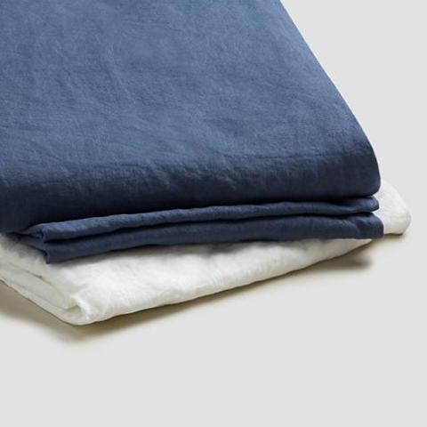 Basic Bed Linen Bundle, Blueberry
