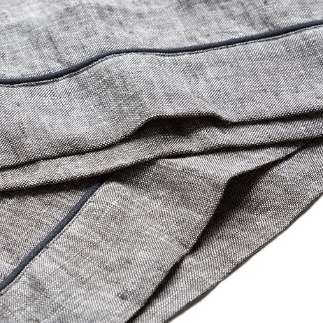 Linen Pajama Set, Gray