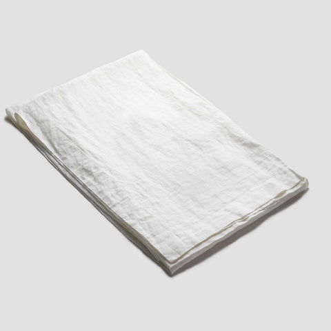 White Linen Tablecloth -  - BuyMeOnce UK