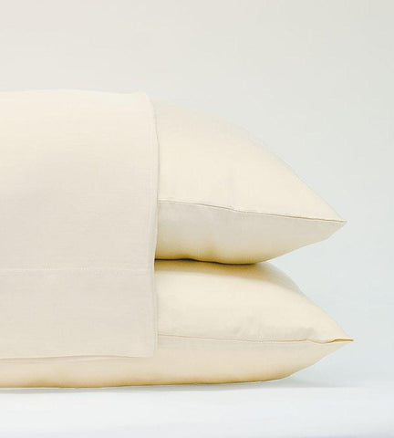Classic Bamboo Pillowcase Set, Ivory