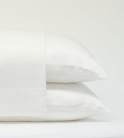 Classic Bamboo Pillowcase Set, White