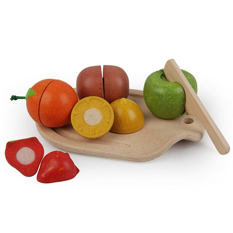 Wooden Assorted Fruit Set