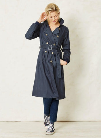 Renee Organic Cotton Trench Coat