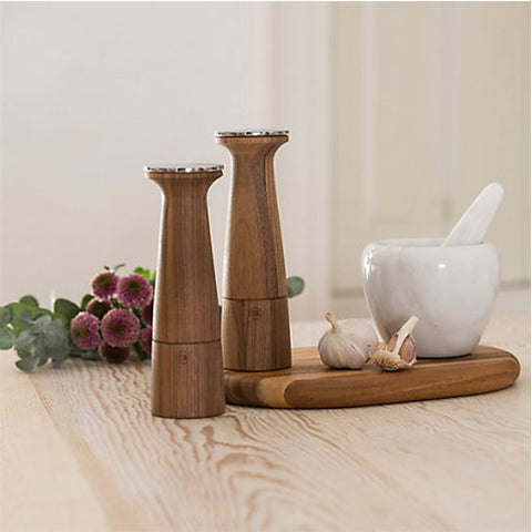 T Amp G Oblique Walnut Wood Pepper Mill Buymeonce