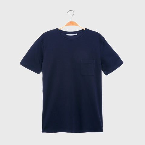 Men's Round Neck T-Shirt with Pocket