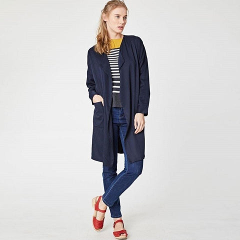 Angelou Waterfall Duster Coat