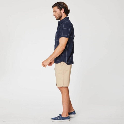 Curtis Short Sleeve Hemp Shirt