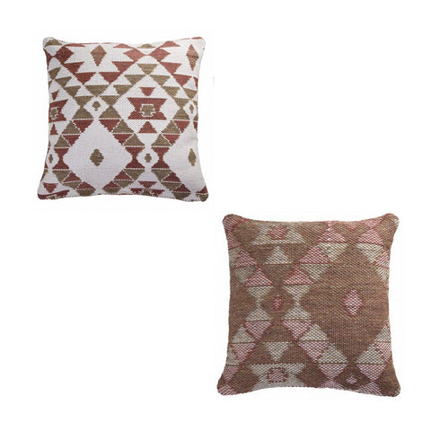 Reversible Indoor/Outdoor Diamond Pillows