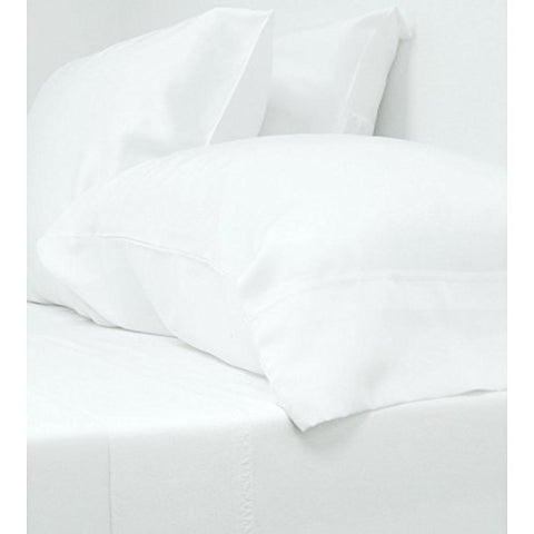 Classic Bamboo Bed Sheet Set, White