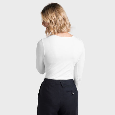 White T-Shirt Co Womens Fitted Body T-shirt | BuyMeOnce.com