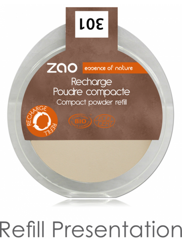 Vegan Refillable Compact Powder
