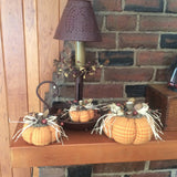 Set of 3 Fall Decorated Pumpkins - Sew Many Prims