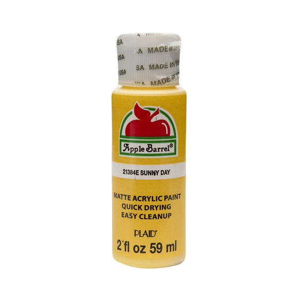 Apple Barrel Acrylic Paint - Sunny Day, 2 oz. - Sew Many Prims