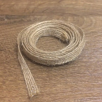 "Burlap Ribbon - 1/4"", 1 yd - Sew Many Prims"