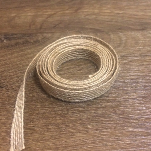 "Burlap Ribbon - 3/8"", 1 yd - Sew Many Prims"