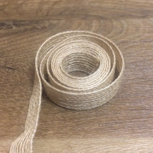 "Burlap Ribbon - 5/8"", 1 yd - Sew Many Prims"