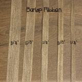 jute ribbon comparison chart