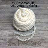 Bulky Twists, warm vanilla - Sew Many Prims