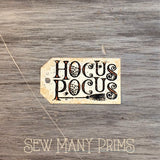 Hocus Pocus Tags, 8/pk - Sew Many Prims