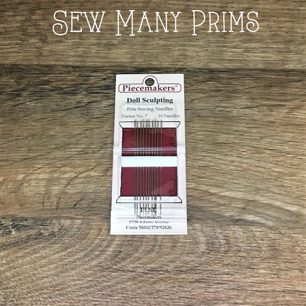 "Doll Sculpting Needles - 2 3/8"", 10/pk - Sew Many Prims"