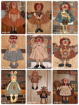Discounted Raggedy Ann Patterns by Sew Many Prims