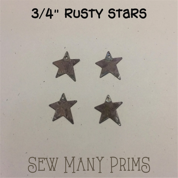 "Primitive Stars - 3/4"", 4/pk - Sew Many Prims"