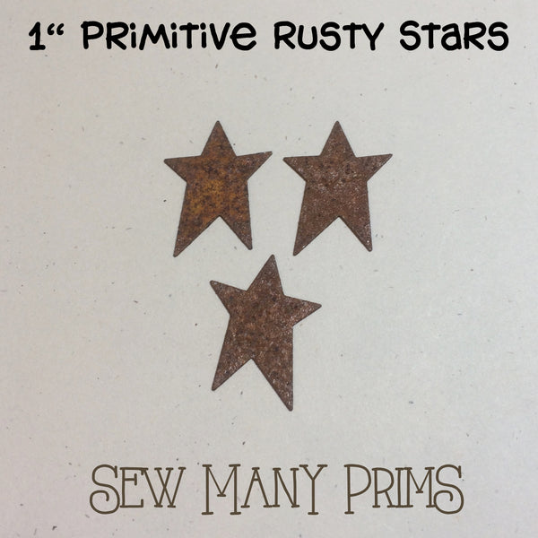 "Primitive Stars, 1"" - Sew Many Prims"