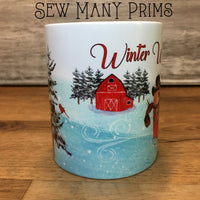 Winter Wonderland Mug - Sew Many Prims