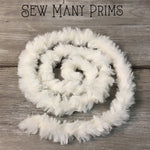 Faux Fur Trim - cream, 1 yd - Sew Many Prims