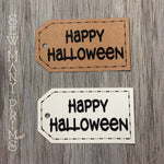 Happy Halloween Tags, 8/pk - Sew Many Prims
