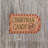 Christmas Candy Tags - Kraft