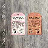 Tunnel of Love Tags, 6/pk - Sew Many Prims