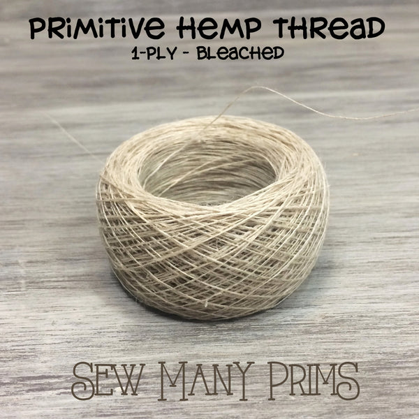 ball of 1ply hemp thread