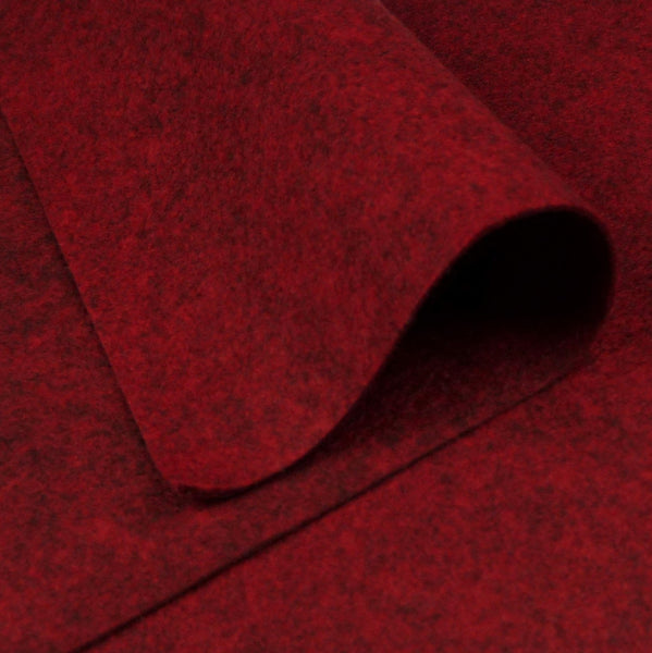 Wool Felt, barn red - Sew Many Prims
