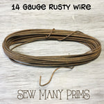Rusty Wire, 14 ga. - Sew Many Prims