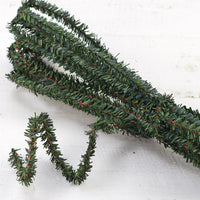 CLEARANCE Artificial Pine Wire Roping, 25 ft - Sew Many Prims