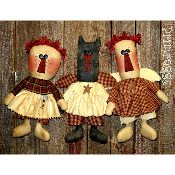 pr-132 The Girls Pattern - Sew Many Prims