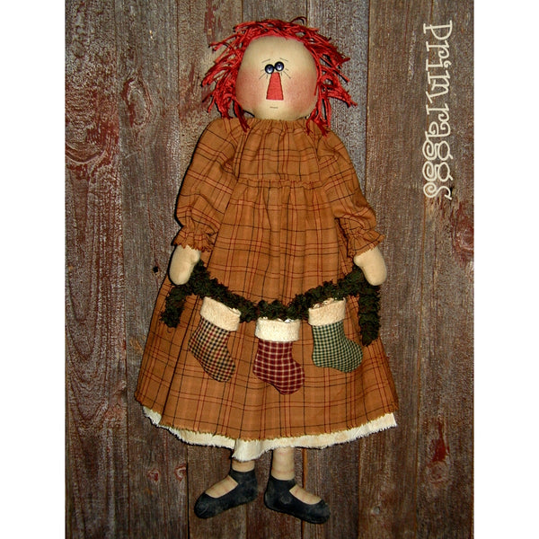 pr-147 Stocking Annie Pattern - Sew Many Prims