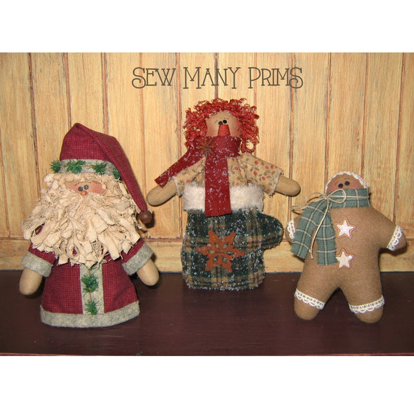 smp-013 Christmas Holdables Pattern - Sew Many Prims