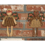 smp-030 Lil' Christmas Angels Pattern - Sew Many Prims