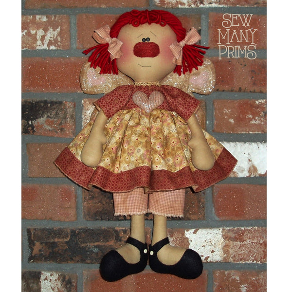 smp-045 Valentine Angel Pattern - Sew Many Prims