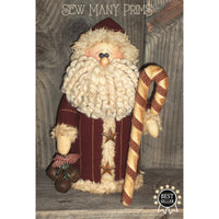 smp-050 Olde Time Santa Sitter Pattern - Sew Many Prims